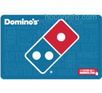 ihocon: $50 Domino's Pizza Gift Card 只賣 $40 - Fast Email Delivery