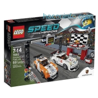 ihocon: LEGO Speed Champions Porche 911GT Finish Line 75912