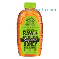 ihocon: Nature Nate's Organic Pure, Raw and Unfiltered Honey, 32 Ounce有機蜂蜜