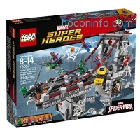 ihocon: LEGO Super Heroes 76057 Spider-Man: Web Warriors Ultimate Bridge Building Kit (1092 Piece)