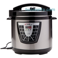 ihocon: Power Pressure Cooker XL 8 Quart, Digital Non Stick Stainless Steel Steam Slow Cooker and Canner