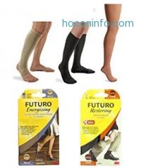 ihocon: Futuro Therapeutic Open Toe/Open Heel Knee Length for Men and Women, Medium
