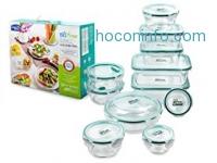 ihocon: Lock & Lock 22-Pc Bisfree Food Storage Container Set