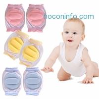 ihocon: Baby Crawling Anti-Slip Kneepads 3 Pairs嬰兒護膝