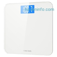 ihocon: Innotech Digital Bathroom Scale with Easy-to-Read Backlit LCD體重計