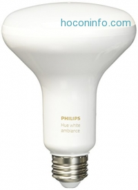 ihocon: Philips 464800 Hue White Ambiance BR30 LED Bulb智能燈泡