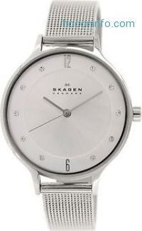 ihocon: Skagen Women's Anita SKW2149 Silver Stainless-Steel Quartz Watch水晶女錶