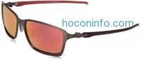 ihocon: Oakley Ferrari Tincan Carbon Iridium Sunglasses, Carbon, 58 mm , OO6017-07
