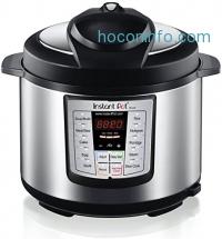 ihocon: Instant Pot IP-LUX60 V3 Programmable Electric Pressure Cooker, 6Qt, 1000W (updated model)