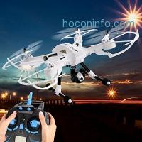 ihocon: Funmily JJRC Drone 2MP Wifi Camera 4CH 2.4G 6-Axis Gyro Headless Mode One Key Return 空拍機