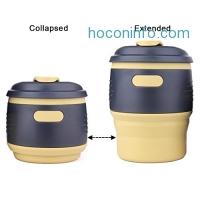 ihocon: Collapsible Coffee Mug矽膠折疊杯