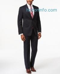 ihocon: Tommy Hilfiger Navy Solid Slim-Fit Suit Separates