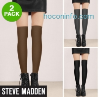 ihocon: 2 Pack: Steve Madden Fleece Lined Knee Highs