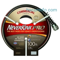 ihocon: NeverKink 8844-100 Series 4000 Commercial Duty Pro Garden Hose, 5/8-Inch by 100-Feet