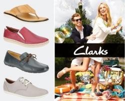 [快去選購] Clarks: 5折起再8折 + 免運費