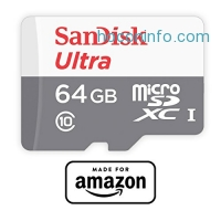 ihocon: SanDisk 64 GB micro SD Memory Card for Fire Tablets and All-New Fire TV