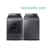 ihocon: Samsung DV52J8700EP/WA52J8700AP 27 Platinum Washer and Dryer