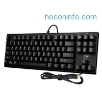 ihocon: TOMOKO 87 Key Mechanical Gaming Keyboard機械遊戲鍵盤