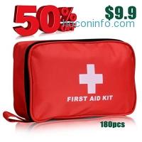 ihocon: Premium First Aid Kit 180 Pieces急救包