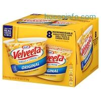 Velveeta Shells & Cheese Pasta 微波速食麵 8個$5.59免運(原價$6.99, 20% Off)