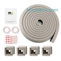 ihocon: MIU COLOR® Table Edge Corner Guards with 8 Corners - 13 ft (Grey)桌邊防撞保護條