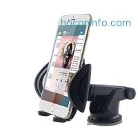 ihocon: GOOLOO Car Phone Mount Holder吸盤式汽車手機固定器