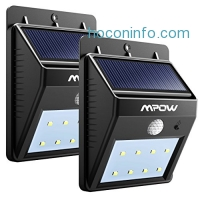 ihocon: Mpow Bright Solar Power LED Motion Activated Light 2-Pack太陽能動作感應庭園燈