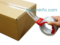 ihocon: Crystal Clear Packing Tape 6個包裝膠帶+膠帶座 with Dispenser