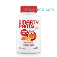 ihocon: SmartyPants Gummy Vitamins Complete Kids Vitamins, 90 Count兒童綜合維他命軟糖