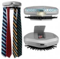 ihocon: Revolving 30-Tie Automatic Closet Tie Rack Organizer with Cuff-Link Compartment領帶置放架,含小型儲物格及照明燈