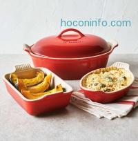 ihocon: Le Creuset Cerise 4-Piece Stoneware Set