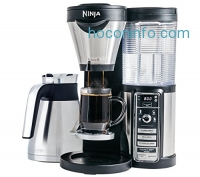 ihocon: Ninja Coffee Bar Brewer, Thermal Carafe with Ninja Hot and Cold 18 oz. Insulated Tumbler and Recipe Book (CF085Z)