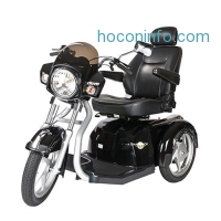 ihocon: Drive Medical Maverick Executive Three Wheel Power Scooter with Seat 三輪電動車