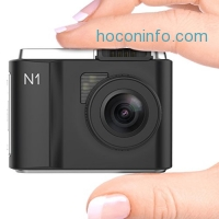 ihocon: VANTRUE Upgraded N1 Small Car Dashboard Camerawith Parking Monitor/G-Sensor/Super Night Vision and 156° Viewing Angle 行車記錄器