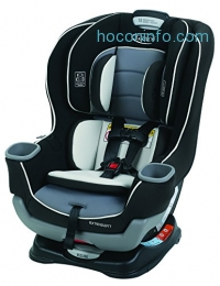 ihocon: Graco Extend2Fit Convertible Car Seat, Gotham