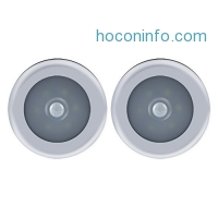 ihocon: Enjoydeal Motion Sensor Cordless LED Night Light/closet light, 2 Pack動作感應無線夜燈/櫥櫃燈
