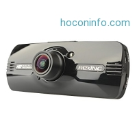 "ihocon: Rexing F9 US Version 2.7"" LCD FHD 1080p 170° Wide Angle Car Dashboard Camera Recorder Dash Cam with G-Sensor, WDR, Motion Detection"