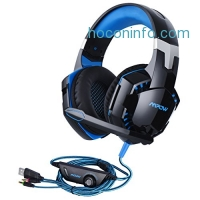ihocon: Mpow Gaming Headset with Mic Noise Isolating & LED Light麥克風遊戲耳機