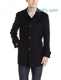 ihocon: Kenneth Cole New York Men's Black Elmore Coat