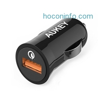 ihocon: Quick Charge 2.0 AUKEY 18W USB Car Charger汽車快速充電器