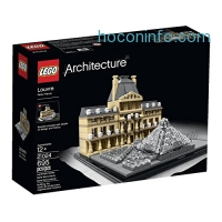 ihocon: LEGO Architecture 21024 Louvre Building Kit