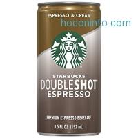ihocon: Starbucks Doubleshot, Espresso + Cream, 6.5 Ounce, 12 Pack