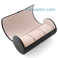 ihocon: MVPower Travel Leatherette Roll Watch Storage Organizer 手錶收納盒