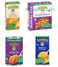 ihocon: Annie's Organic Cheddar Bunnies, Baked Snack Crackers, 11 oz Box (Pack of 4)