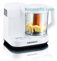 ihocon: Baby Brezza Food Maker Glass Large 4 Cup Capacity, White