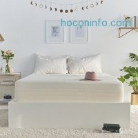 ihocon: Brentwood Home Cypress Mattress, Bamboo Derived Rayon Cover, Gel Memory Foam, Made in USA, 13-Inch, Queen