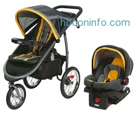 ihocon: Graco FastAction Jogger Travel System or SnugRide Click Connect 35 Elite, Sunshine