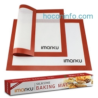 ihocon: Imarku Silicone Baking Mat Set of 2 矽膠烤盤墊