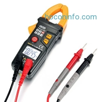 ihocon: Dr.meter PM2016S Smart Digital Clamp Meter, Auto-Ranging Multimeter with Voltage AC Current and Resistance Capacitance Tester 鈎式電流錶