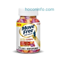 ihocon: Move Free Ultra Triple Action Gummies, 25 count - Joint Health Supplement with Type II Collagen, Boron and Hyaluronic Acid